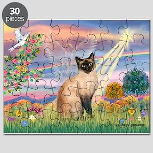 Cloud Angel & Siamese Puzzle