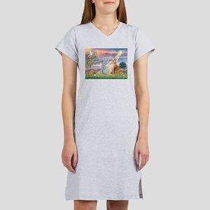 Cloud Angel / Sphynx cat Women's Nightshirt