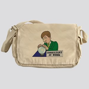 Funny Consultant At Work Messenger Bag