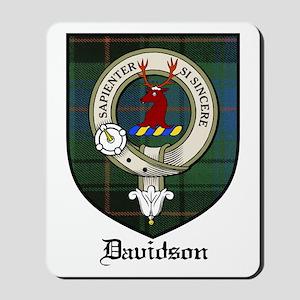 Davidson Clan Crest Tartan Mousepad