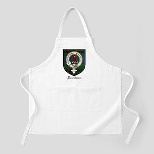 Davidson Clan Crest Tartan BBQ Apron
