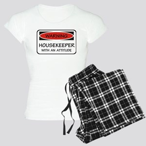 Attitude Housekeeper Women's Light Pajamas