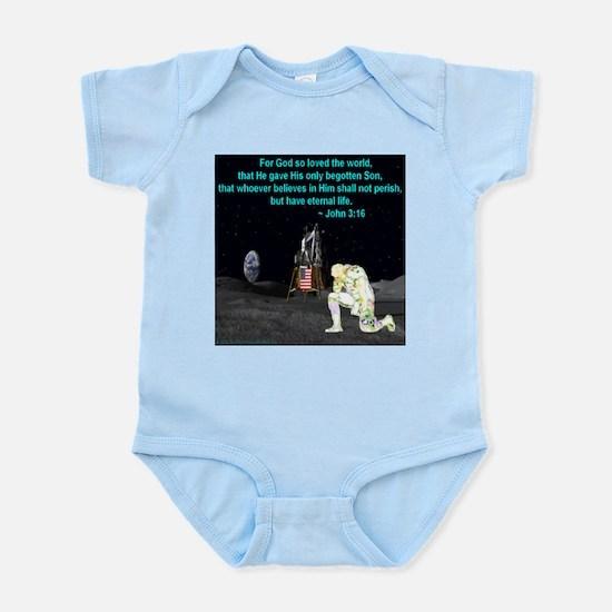Moonbowing John 3:16 Infant Bodysuit