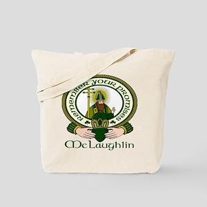 McLaughlin Clan Motto Tote Bag