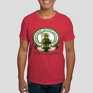 McLaughlin Clan Motto Dark T-Shirt