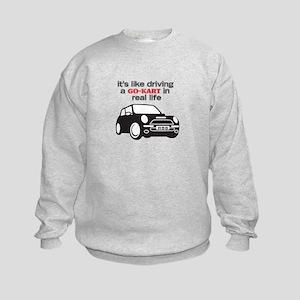 R56 - Like Driving a Go-Cart Kids Sweatshirt