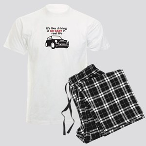 R56 - Like Driving a Go-Cart Men's Light Pajamas