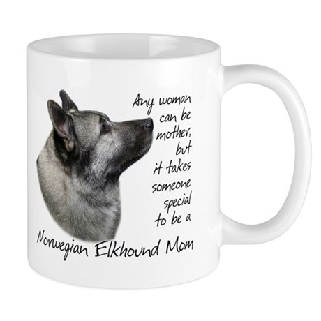 Elkhound Mom Mug