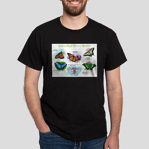 Butterflies of the World Dark T-Shirt