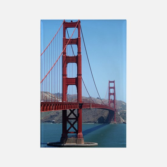 San Francisco Golden Gate Rectangle Magnet