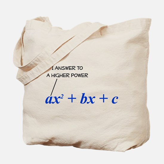 Higher Power Tote Bag