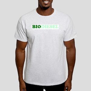 Simple Biodiesel Ash Grey T-Shirt