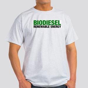 Renewable Energy Ash Grey T-Shirt