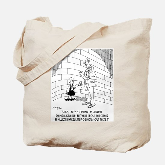 Dutch Boy Stops A Chemical Release Tote Bag