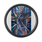 Lightning Thoughts Large Wall Clock