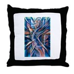 Lightning Thoughts Throw Pillow