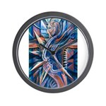 Lightning Thoughts Wall Clock