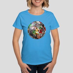 Italian Culture Ball Women's Dark T-Shirt