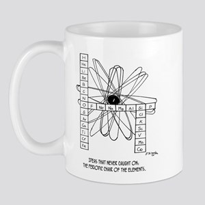 Periodic Chair Of The Elements Mug