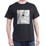 Periodic Chair Of The Elements Dark T-Shirt