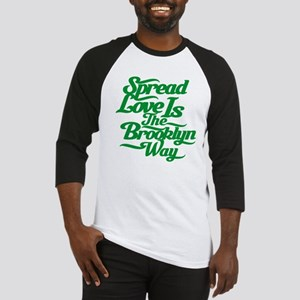 Brooklyn Love Green Baseball Jersey