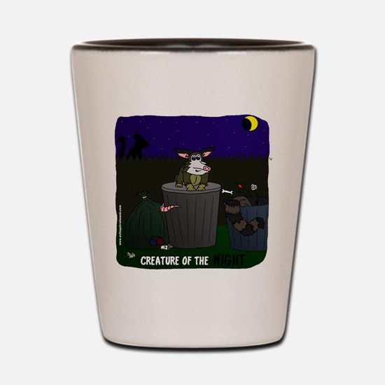 Creature of the Night Shot Glass