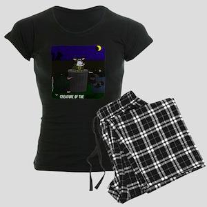 Creature of the Night Women's Dark Pajamas