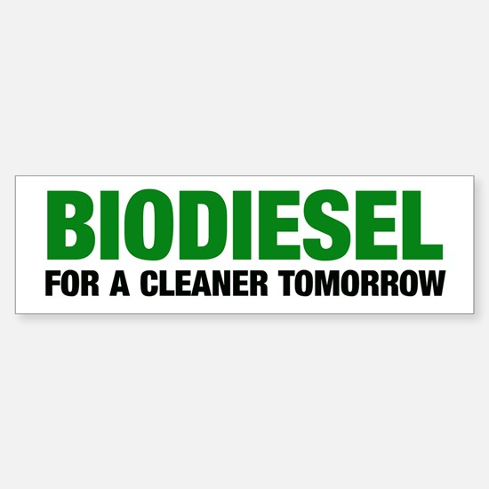 Cleaner Tomorrow Bumper Bumper Bumper Sticker