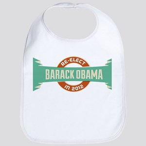 Burnished Headline Obama Bib