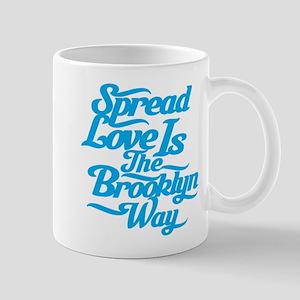 Brooklyn Love Blue Mug