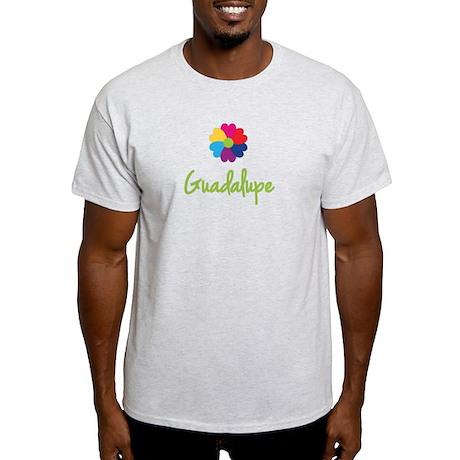 Guadalupe Valentine Flower Light T-Shirt