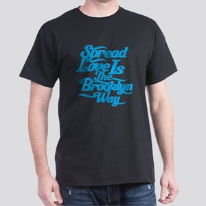 Brooklyn Love Blue Dark T-Shirt