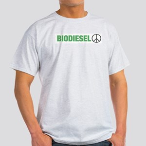 Biodiesel Peace Ash Grey T-Shirt
