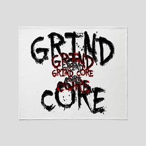 Grind Core Throw Blanket