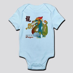 Chinese New Year of Dragon Infant Bodysuit