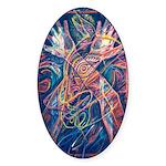 Magic of the Shaman Sticker (Oval)