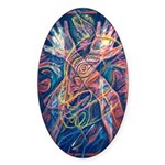 Magic of the Shaman Sticker (Oval 10 pk)