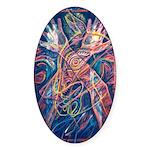 Magic of the Shaman Sticker (Oval 50 pk)