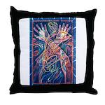 Magic of the Shaman Throw Pillow