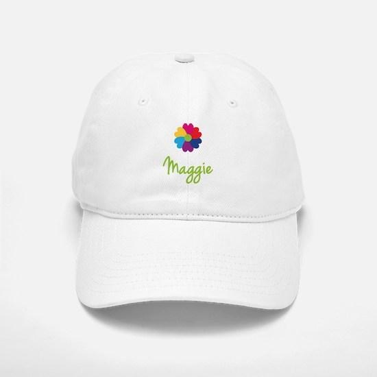 Maggie Valentine Flower Baseball Baseball Cap