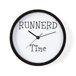 Runnerd Wall Clock