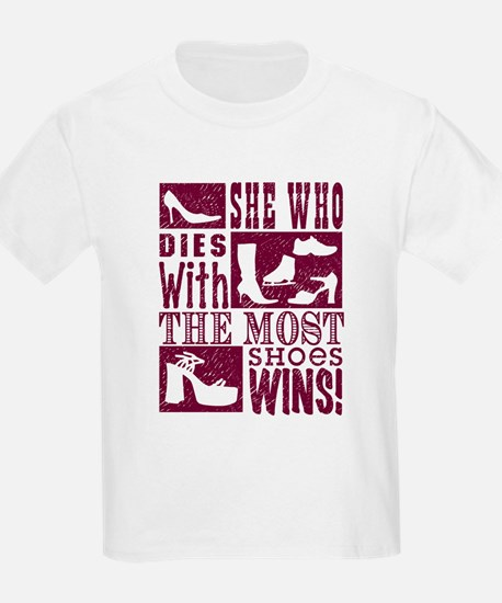 Most Shoes Win T-Shirt