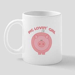 Pig girl Mug