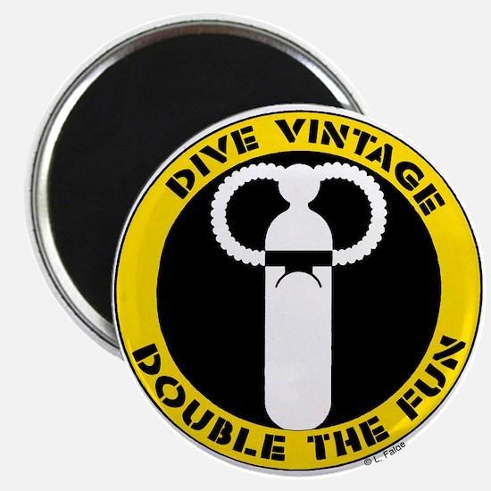 Dive Vintage Magnet