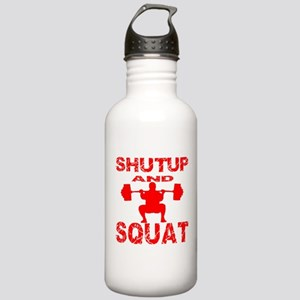 Shut Up And Squat Stainless Water Bottle 1.0L