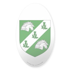 Caitriona's Sticker (Oval 50 pk)