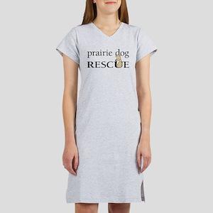 prairie dog RESCUE Women's Nightshirt