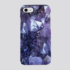 Amethyst Crystal Cluster iPhone 7 Tough Case