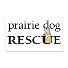 prairie dog RESCUE 22x14 Wall Peel