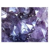 Geode Wrapped Canvas Art